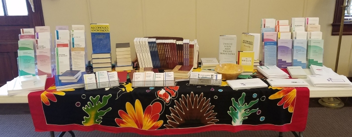 literature table